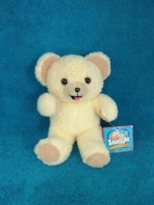 "Snuggle Bear Fabric Softener 8"" Plush w/Tags 1997 - Mint !"