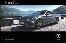 Mercedes C Class Coupe 10 / 2015 catalogue brochure