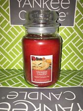 Apple Pumpkin Pie Yankee Candle 623g 22oz Large Jar - Brand New Genuine