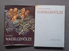 Buch, Eiselt / Schröder, Nadelgehölze, Forst, Gartenbau, Baum, Neumann 1974