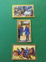 Vintage 3 Small Cigarette Cards, 2 1/2 Lloyd Zigarerren 1870 Collectables E62