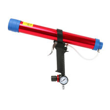 Pneumatic Air Caulking Glue Gun Soft Glass Rubber Sausage Type Applicator 600ML