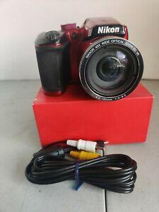 Nikon COOLPIX B500 Digital Camera (Red) 26508