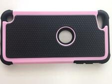 Ipods Touch 5th Gen -Hard & Soft Rubbers High Impact Armor Cases Hybrid Covers