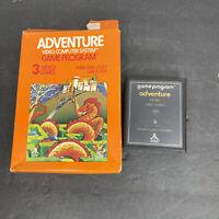 Vintage 1981 Atari 2600 Adventure CX2613 Game in Box Untested