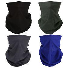 4 Black Blue Gray Green Face Mask Bandana Headband Neck Airsoft Motorcycle Bike
