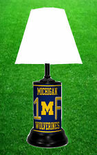 MICHIGAN WOLVERINES- NCAA LICENSE PLATE LAMP - FREE SHIPPING IN USA