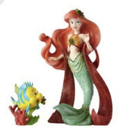 Disney Couture de Force The Little Mermaid Ariel & Flounder Holiday Figurine