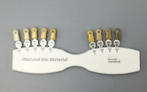 Dental IPS Natural Die Material Shade Guide Ivoclar Vivadent ND 1-9 Abutment