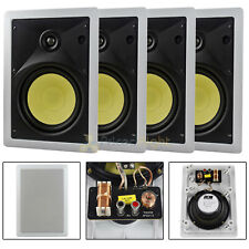 """4 Pack 6.5"""" In-Wall Speakers 2 Way 60W Rms Dcm By Mtx Premium Home Audio Pro"""