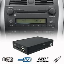 Car Stereo USB SD AUX MP3 WMA CD Changer Adapter TOYOTA Auris Avensis Corolla