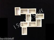 9 Handmade Wooden Mini Crates Wall CUSTOM Shadow Box style -Miniature Storage