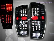 02 03 04 05 06 CHEVY AVALANCHE L.E.D. LED TAIL LIGHTS BLACK