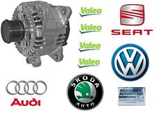 ALTERNATORE ORIGINALE VALEO AUDI A3 A4 VOLKSWAGEN GOLF 5 6  120AH