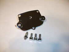 RECHROMED STEERING BOX TOP PLATE WITH BOLTS SUITS HK HT HG HOLDEN AND MONARO