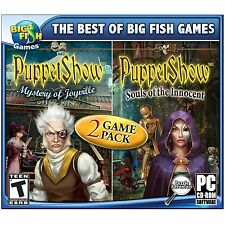 Puppet Show 2-Pack PC Game Window 10 8 7 XP Computer Games hidden object mystery