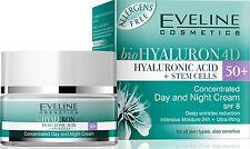 Eveline HYALURON 50+ Lifting Tages und Nachtcreme-Serum 50ml SPF 8 Anti Falten