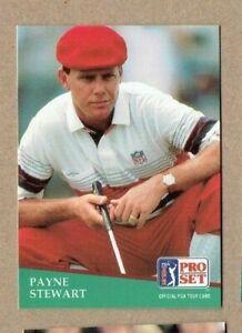 1991 Pro Set Golf Card #103 Payne Stewart