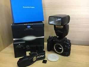 *Near Mint ++ in Box* Konica Minolta Maxxum Dynax Alpha 7 α-7 a-7 Digital Camera