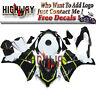 Motorrad Bodywork Fairing Kits Cowling Fit Honda CBR1000RR 2008-2011 white black
