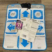 Dance Dance Revolution Hottest Party 3 Nintendo Wii Bundle with Dance Pad Mat
