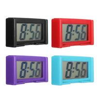 Home Mini Digital LCD Display Auto Car Truck Dashboard Date Time Calendar Clock
