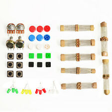 Electronic Parts Pack KIT for ARDUINO Component Switch Button Resistors Tool Set