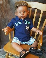 CUSTOM AA REBORN CHILD/TODDLER BOY~12 WEEKS to COMPLETE~MIA MARIA'S NURSERY