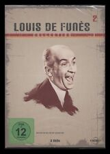 DVD LOUIS DE FUNES COLLECTION 2 ABENTEUER DES RABBI JACOB + LOUIS DER GEIZKRAGEN