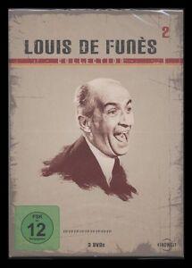 DVD LOUIS DE FUNES COLLECTION 2 ABENTEUER DES RABBI JACOB + LOUIS DER GEIZKRAGEN