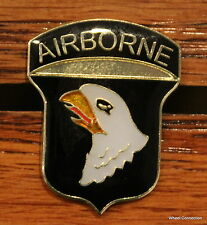 US 101st Airborne Lapel Pin American Army Eagle Tack Military 1938