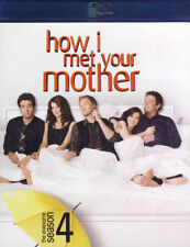 HOW I MET YOUR MOTHER THE AWESOME SEASON 4 BLU RAY Great Gift-Brand New HMV-153