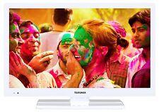 """Telefunken L22F272I3 LED Fernseher TV 22"""" Zoll 56 cm Full HD DVB-T/C/S2 CI+ weiß"""