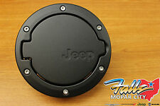 2007-2017 Jeep Wrangler 2-Door Black Satin Fuel Filler Gas Cap Door Mopar OEM