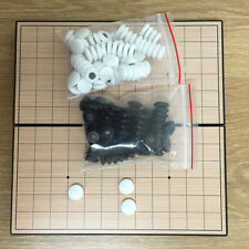 Play Go Baduk & Omok Travel Mini Magnetic Korean Traditional go Board Game 바둑 오목