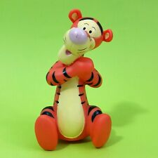 Disney's Winnie The Pooh TIGGER Non Articulated Vinyl Squeeze / Squeak Figure