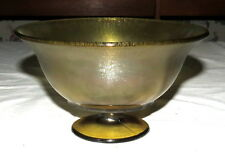 "Northwood Russet 7"" Stretch Bowl Footed Compote"