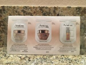 Avon Ultimate Regimen Sample Pack of 5