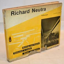 Boesiger RICHARD NEUTRA Buildings and Projects 1951 Girsberger Architettura