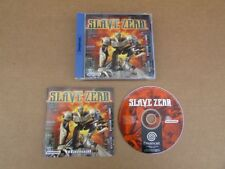 SLAVE ZERO FOR SEGA DREAMCAST VERY GOOD CONDITION AND COMPLETE WITH MANUAL