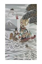 Noren Japanese hanging curtain goodwill 150*85cm Seven Deities of Good Fortune