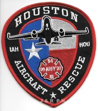 "*NEW*   Houston  A.R.F.F. ""Sta.- 54-81-92-99"", TX (4"" x 4.5"" size)  fire patch"