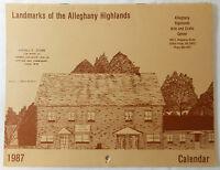 1987 Landmarks of the Alleghany Highlands, VA Calendar