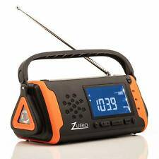 Emergency Radio with NOAA Weather Alert Hand Crank Solar Powered