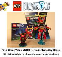 Boxed LEGO Dimensions Nya Ninjago Fun Pack 71216: 100% COMPLETE - Premium Seller