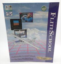 FLITE SCHOOL - 1990s FAA WRITTEN TEST PREP - Windows 3.1 95 OS/2 Warp Mac OS
