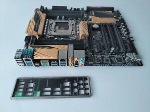 ASUS X79 DELUXE WiFi Intel LGA2011 ATX Motherboard with Xeon CPU and IO shield