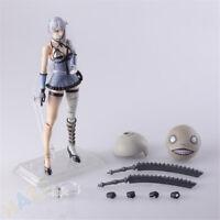 """Square Enix BRING ARTS - NIER RepliCant/Gestalt: Kaine Action Figure Jouet 5.5"""""""