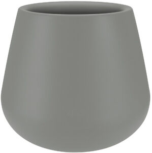 Elho Pure Cone Shaped Large Indoor Outdoor Planter 43cm Grey Modern & Tough