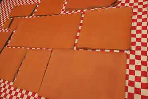 Original HORWEEN Basketball Print Leather Piece for Crafts, DIY, Projects.